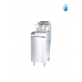 Gas Fryers with Cabinet, 21L