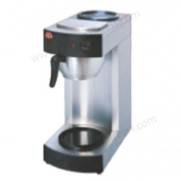 Coffee Brewer, Double Warmer, 100 Cups/HR